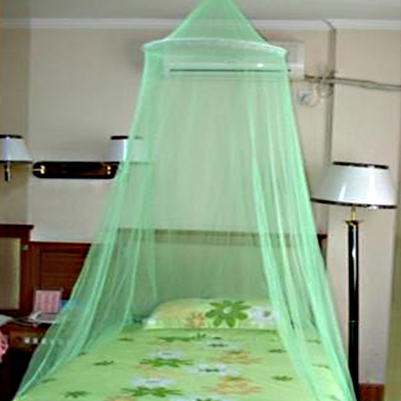 Useful Aulic Elegant Round Lace Mosquito Net Cradle Ger Style Bed Netting Canopy High Quality With Cheap Price(China (Mainland))