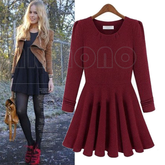 Winter Dresses Long Sleeve