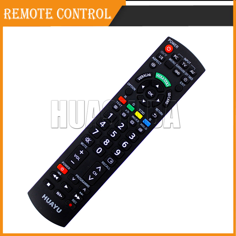 Brand New Universal Remote Control for Panasonic TV GUIDE / 3D / SMART(China (Mainland))
