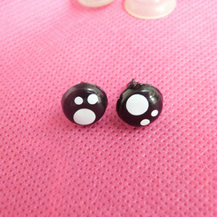 60pcs/lot 8mm/10mm /12mm/14m/16mm cute animal toy eyes plastic safety eyes with washer for plush doll accessories(China (Mainland))