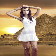 dress party evening elegant sexy lingerie uniform Europe sexy lingerie uniform temptation Egyptian queen Indian clothing