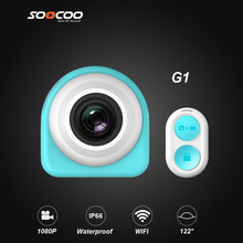 SOOCOO G1 Lifestyle Action Camera 1080p@30fps Waterproof Build-in WIFI with Watch Remote Control