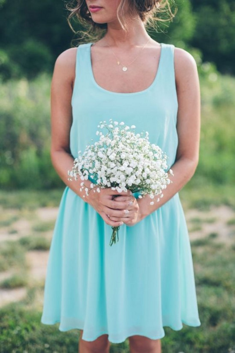 Online get cheap cream bridesmaid dress for Simple cream wedding dresses