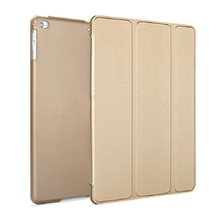 Natural silk and plastic Back Cover Case For Ipad Air1 Air 2 Pro9.7