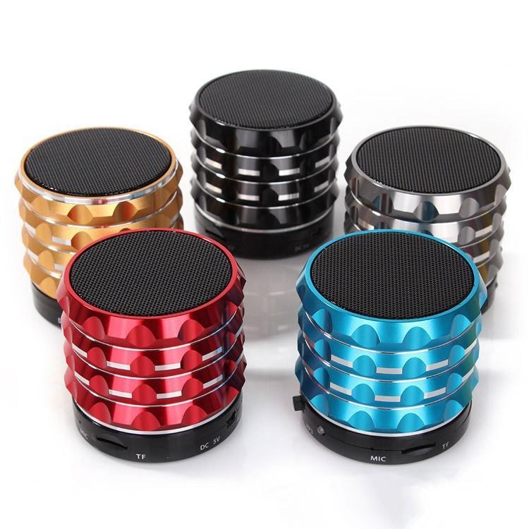 s18 wireless portable mini speaker HiFi Music Bluetooth with MIC For iPhone 5 4S ipad 3 Samsung bluetooth speaker(China (Mainland))