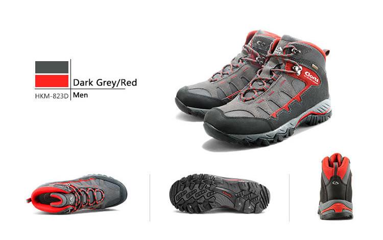 Новый Clorts уличной обуви мужчины женщины походные ботинки Водонепроницаемый Спорт обувь нескользящая обувь Альпинизм сапоги словацкой командой hkm-823A/B/С/Е/F