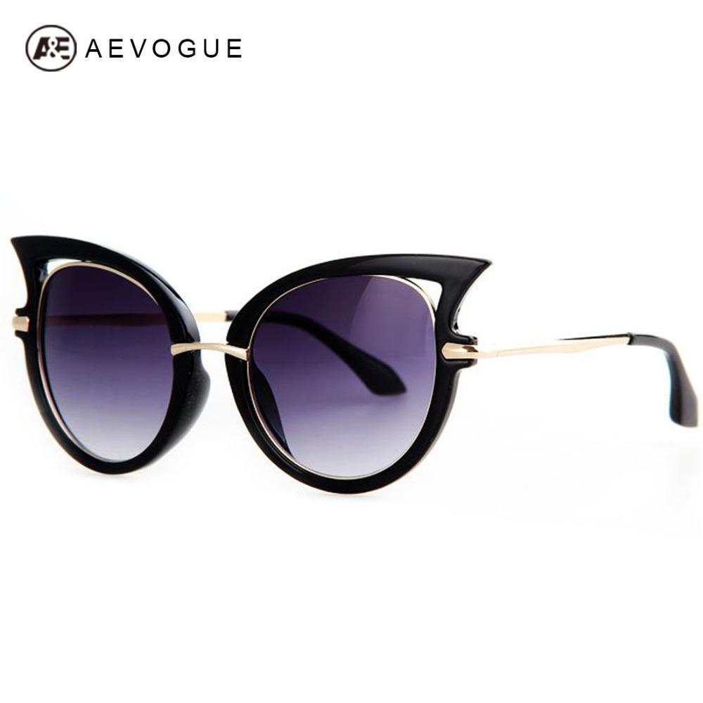 AEVOGUE Free Shipping Brand Designer Cat Eye Sunglasses Women Hot Selling Fashion Personality Sun Glasses Oculos UV400 AE0231(China (Mainland))