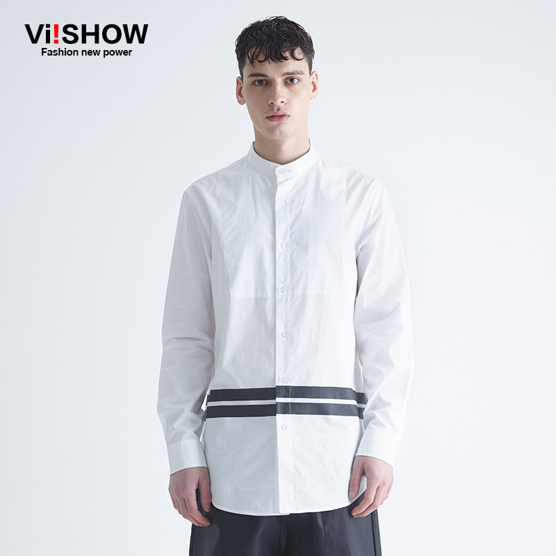 Online Get Cheap Mens White Shirt with Round Collar -Aliexpress ...