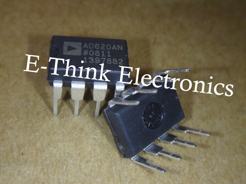 Free shipping 5pcs/lot AD620AN AD620ANZ AD620 DIP-8 Low Drift Low Power IC AD620AN(China (Mainland))