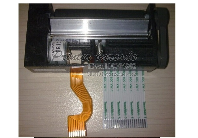 Фотография SII LTP1245S-C384-E thermal printer mechanism copy, 180deg paper feeding, with knob, 70mm/s printing speed, 1pcs low Price