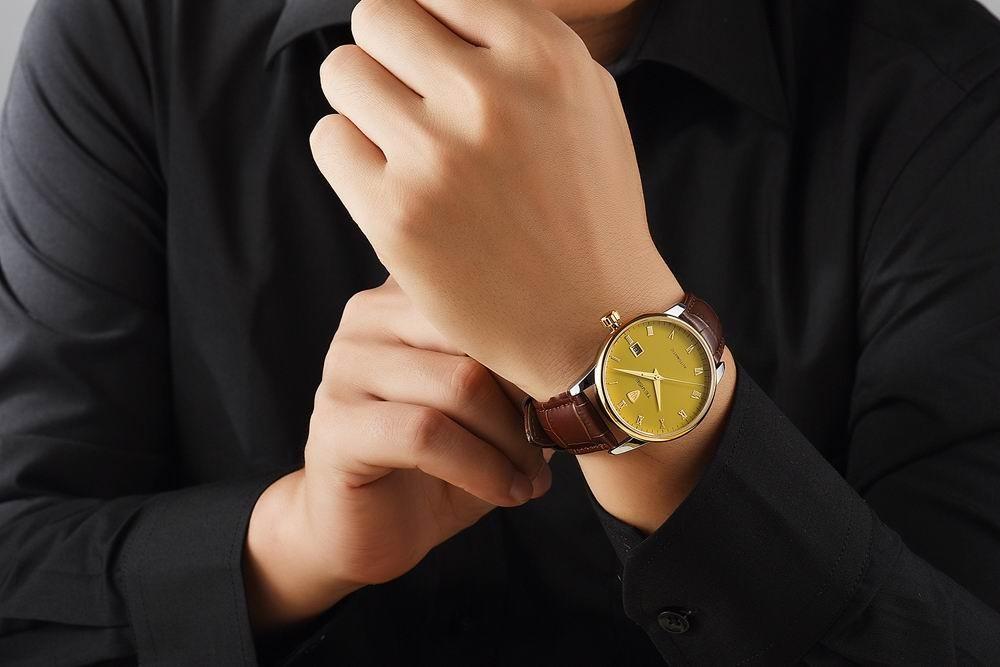 Мужские Часы Лучший Бренд Класса Люкс TEVISE Мужчины Часы Спортивные Часы Календарь Автоматические Механические Кожа Наручные Часы relogio masculino