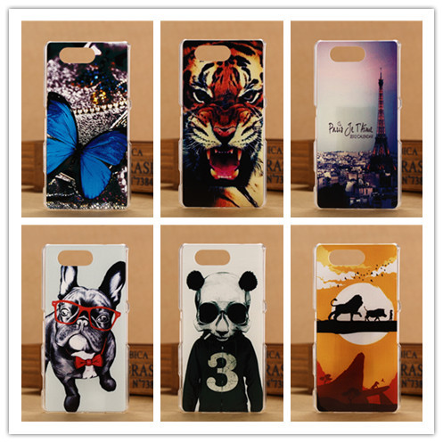 Fashion 3D Pattern Cover For Sony Xperia Z3 Compact Z3 mini M55W Phone Hard Plastic Case Z3Mini Cases PY(China (Mainland))