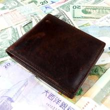 Small Vintage Wallet Brand High Quality Vintage Designer 100 Genuine Crazy Horse Cowhide Leather Men Short