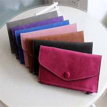New Arrive 2017 Fashion womens wallets and purses Artificial leather Wallets Zipper & Hasp flat clutch wallet Female Girls(China (Mainland))