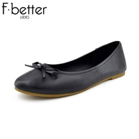 Hot sale Ladies Basic Flats PU Solid Casual Shoes for Women Slip-on Flats Shoes Free Shipping