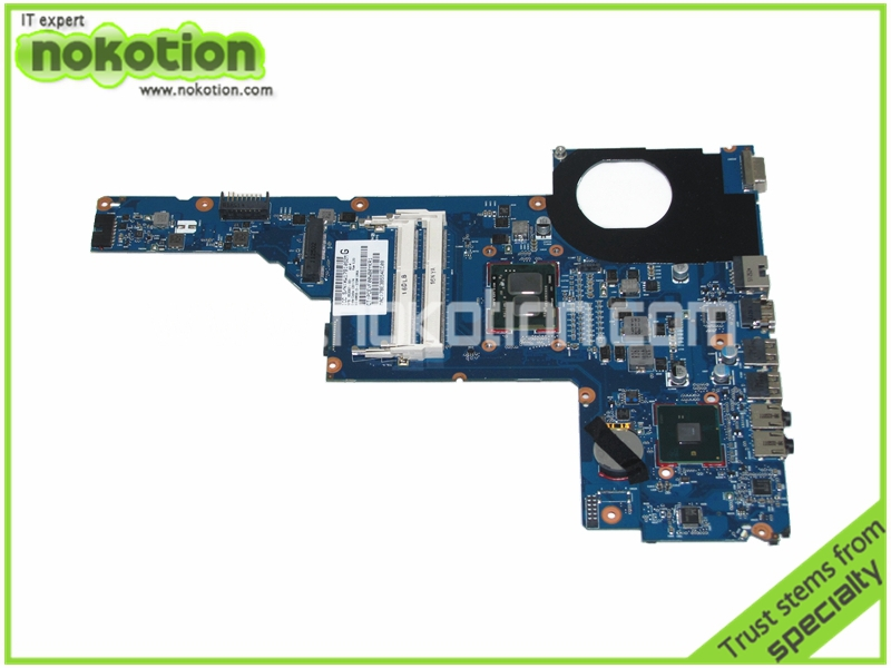 Фотография laptop motherboard for hp pavilion g6 g6-1000 653087-001 i3-370M HM55 GMA HD DDR3