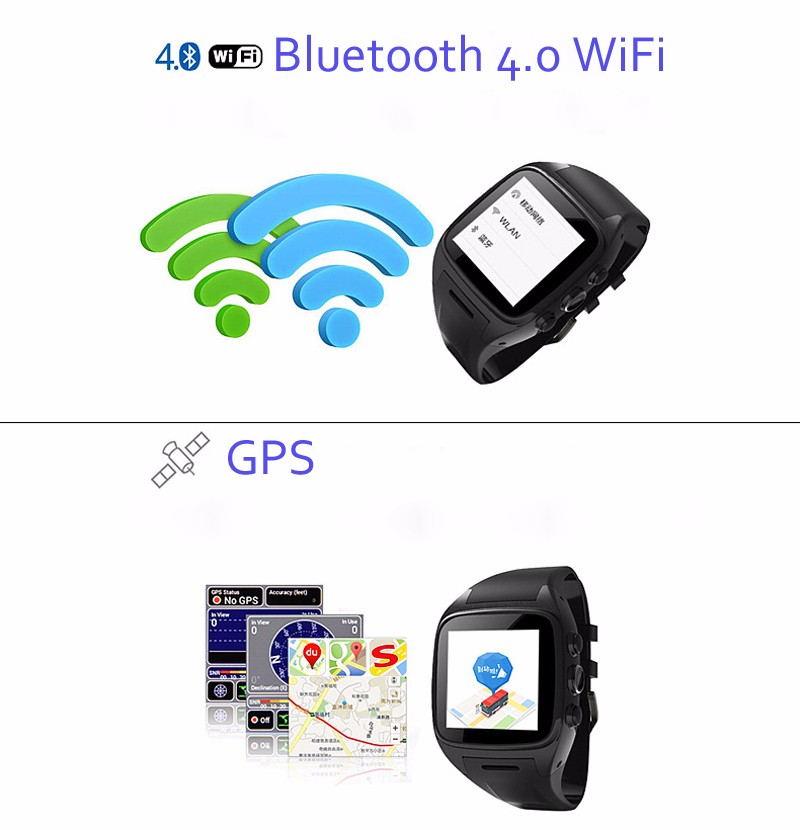 Hot New Dual Core Smart Watch X01 Waterproof IP67 with Bluetooth Watch IPS Screen Support GPS WIFI Video Player For Android