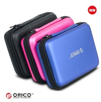 """1pc,2.5"""" Brand Orico Portable Faux Leather Hard Drive/disk Carrying Sata IDE HDD Enclosure/Digital Camera Case bag Pounch,PHB-25"""