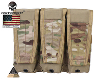 Buy Emersongear CP Style Flap Triple Magazine Pouch Combat EMERSON Modular MAG Pouch EM6365 Multicam Black AOR Coyote for $22.80 in AliExpress store
