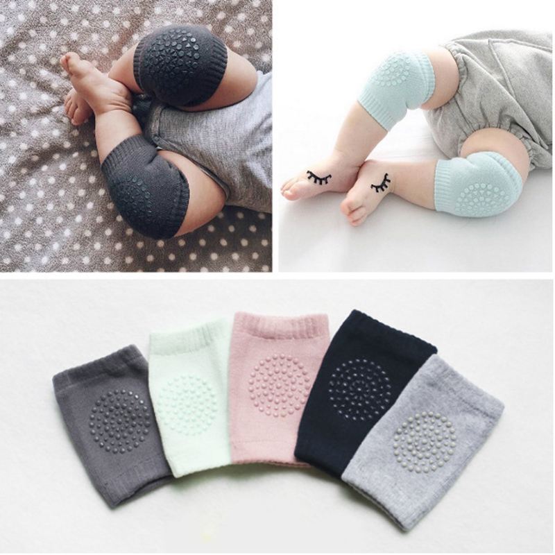 Cartoon Safety cotton Baby Knee Pads Crawling Protector, Kids Kneecaps Children Short Kneepad baby leg warmers(China (Mainland))