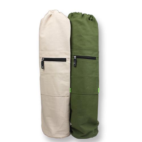 Ladies canvas  yoga bag / yoga mat  backpack /yoga mat tote men's bag / exercise backpack sports mat for men