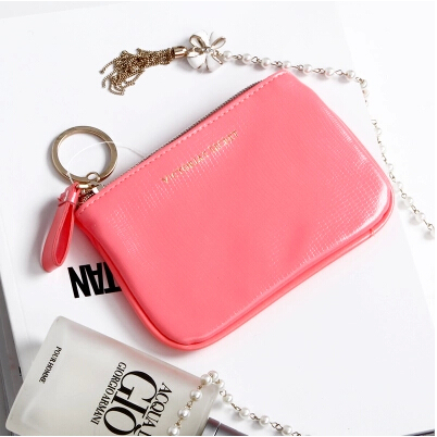 2014 New arrival women new summer style vs small pink Cosmetic Cases zipper woman make up bag makeup box(China (Mainland))