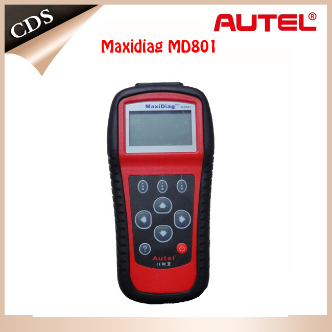 Free shipping 100% ORIGINAL Autel MD801 pro maxidiag 4 in 1 scan tool MD 801 (JP701 + EU702 + US703 + FR704) in stock(China (Mainland))