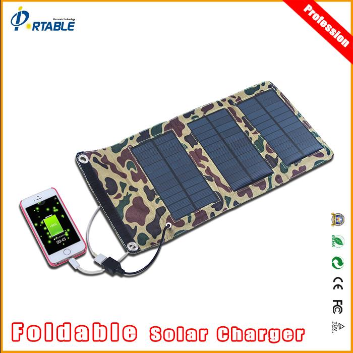 Portable Mono-crystalline Folding Solar Panel Usb 5V Output Charger for Laptop Tablet Notebooks DSLR Camera GPS phone 5V Device(China (Mainland))