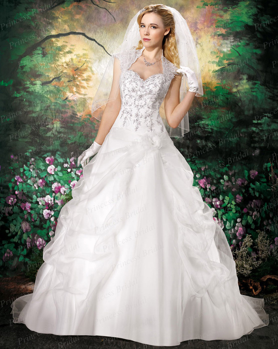 Free shipping ball gown sweetheart keyhole back ruched for Wedding dress with keyhole back