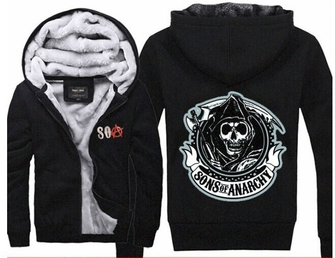 achetez en gros sons anarchy hoodie en ligne des grossistes sons anarchy hoodie chinois. Black Bedroom Furniture Sets. Home Design Ideas
