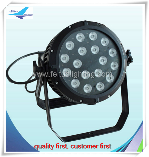 (10pieces) ip65 aluminum housing 18x18w rgbwa uv 6in1 led par outdoor(China (Mainland))