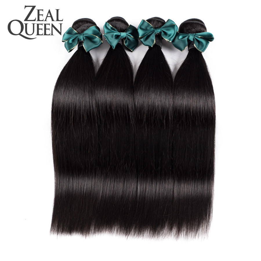 6A Virgin Brazilian Straight Hair 3Pcs/Lot Brazilian Straight Hair Weave Bundles Cheap Unprocessed Remy100 Brazilian Virgin Hair