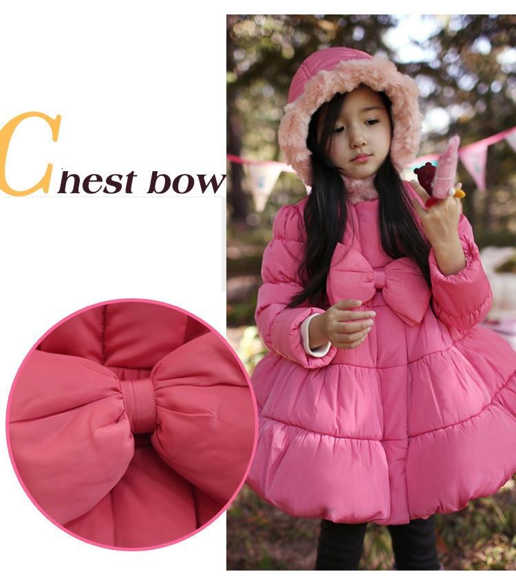 Скидки на Парки девушка одежда бренд ребенок зимой дети верхняя одежда пальто девушки куртка детская одежда хлопка мягкой одежды Рождество пальто