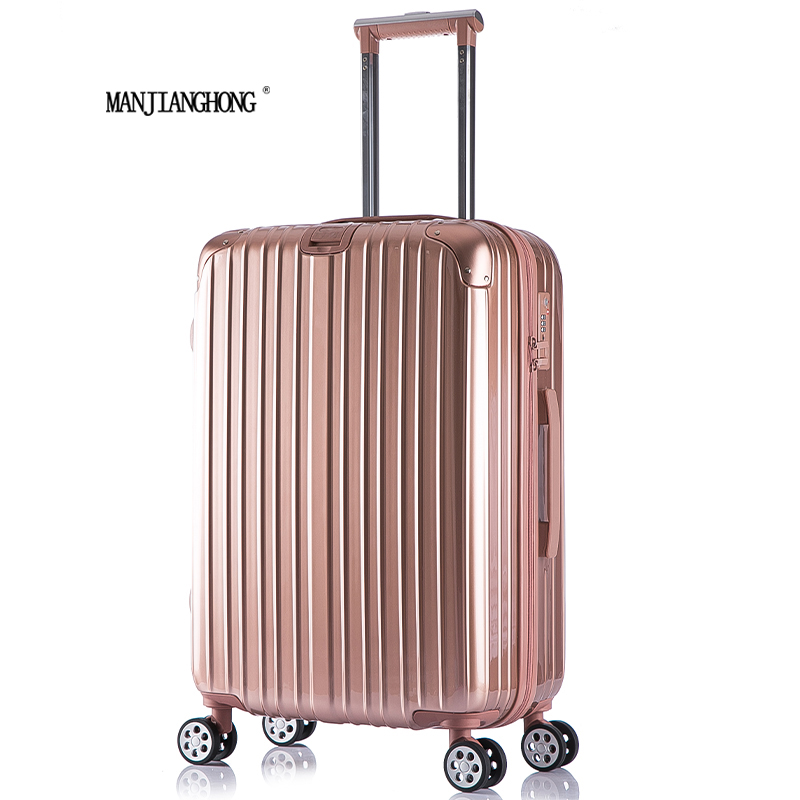 """2016 New High Quality Fashion Zipper style Trolley Luggage/20"""" 24"""" 28"""" ABS PC Suitcase/six colors to choose/suitcases on wheels(China (Mainland))"""