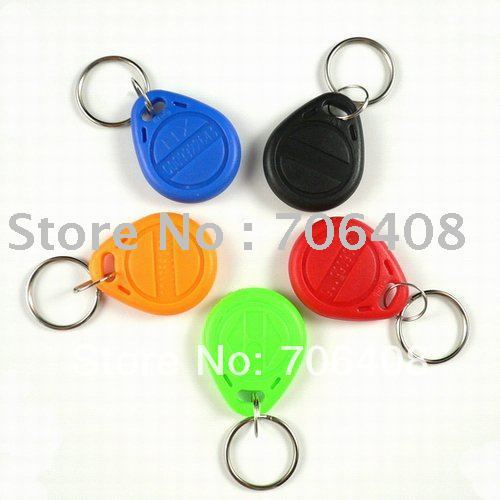 RFID key tags 125KHz ISO10536