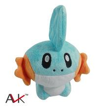 15cm Anime Pokemon Mudkip Pocket Monster Stuffed Plush Dolls Kids Children's Toys Gifts Free Shipping
