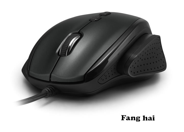 Free shipping Brand Delux M537BU USB Mouse Computer Gaming Mouse Laptops Thumb shells Mouse(China (Mainland))