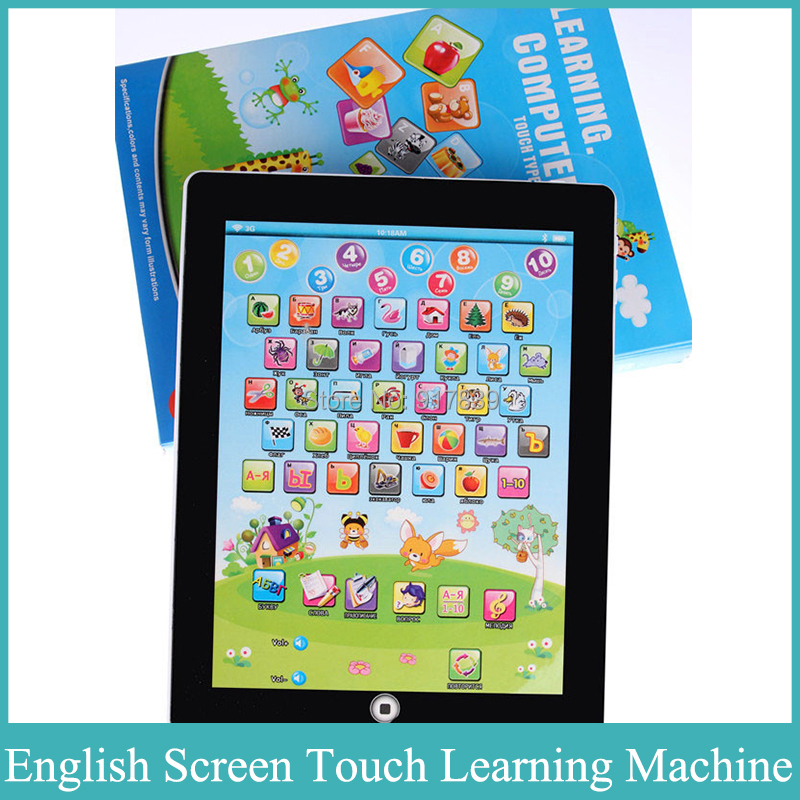 1PC Kids Learning Tablet Multifunction Touch Screen Computer Tablets English Learning Machine Educational Toys(China (Mainland))
