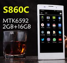"2014 New lenovo S820 + Octa Core 3GB RAM 16G ROM 5.0"" IPS 5mp 13mp Camera Android 4.4.2 WCDMA lenovo cell phones MTK6592"