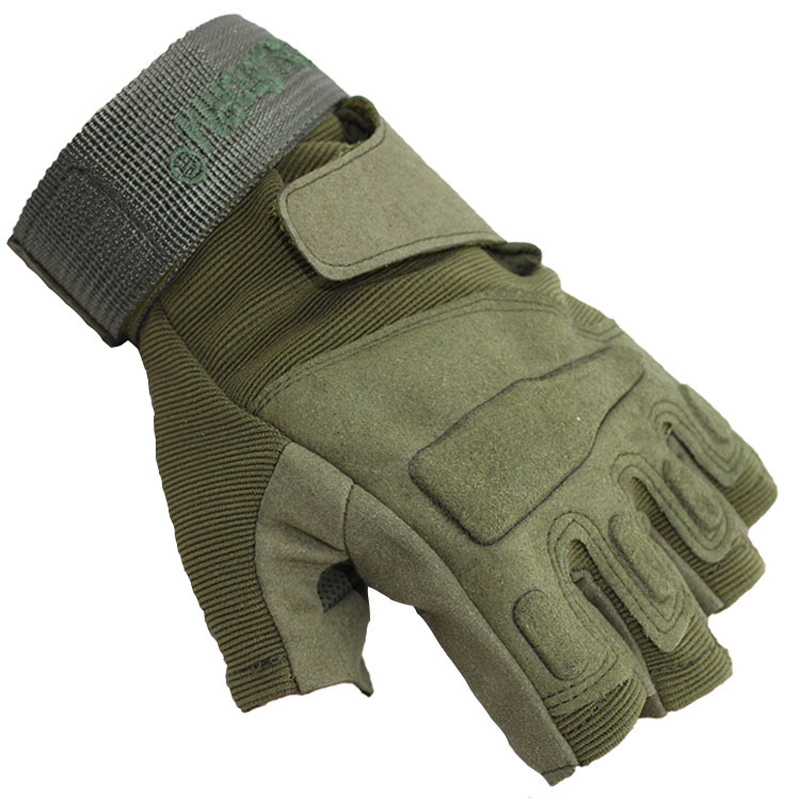 Military Gloves New Storm Tactical Army Outdoor Half Fingerless Gloves Airsoft Bicycle Paintball Assault Hard Knuckle VM0005Одежда и ак�е��уары<br><br><br>Aliexpress