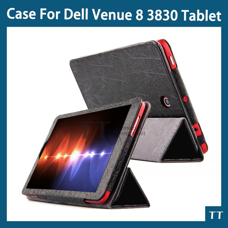 High quality Case For Dell Venue 8 3830 8inch Android Tablet PC Dell Venue 8 3830 Case + Free Screen protector<br><br>Aliexpress