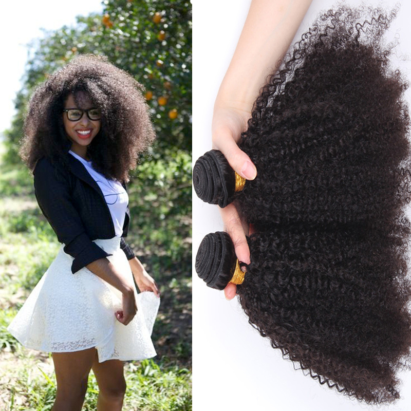 Free shipping Mongolian afro kinky curly hair 2PCS human hair weave extensions unprocessed 5A Mongolian afro kinky curly hair<br><br>Aliexpress