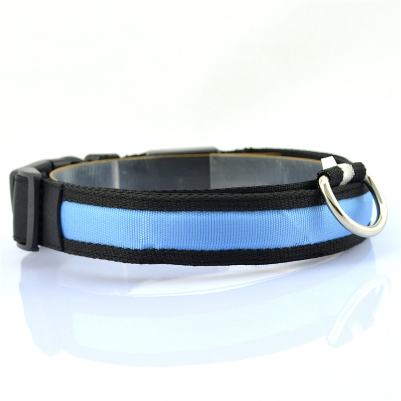 led pet collars for dogs light puppy chihuahua pet. Black Bedroom Furniture Sets. Home Design Ideas
