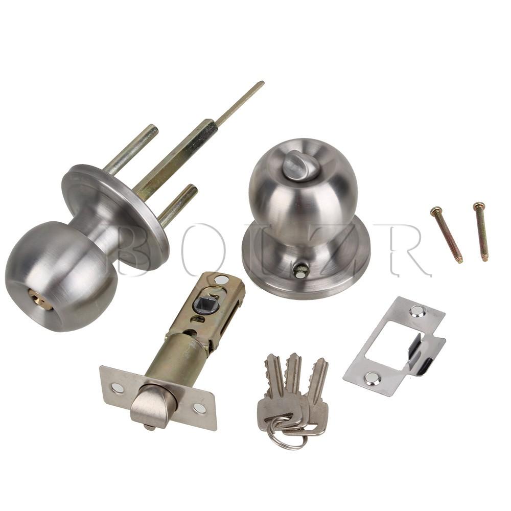 Achetez en gros porte le bouton de verrouillage en ligne - Poignee de porte ronde avec serrure ...