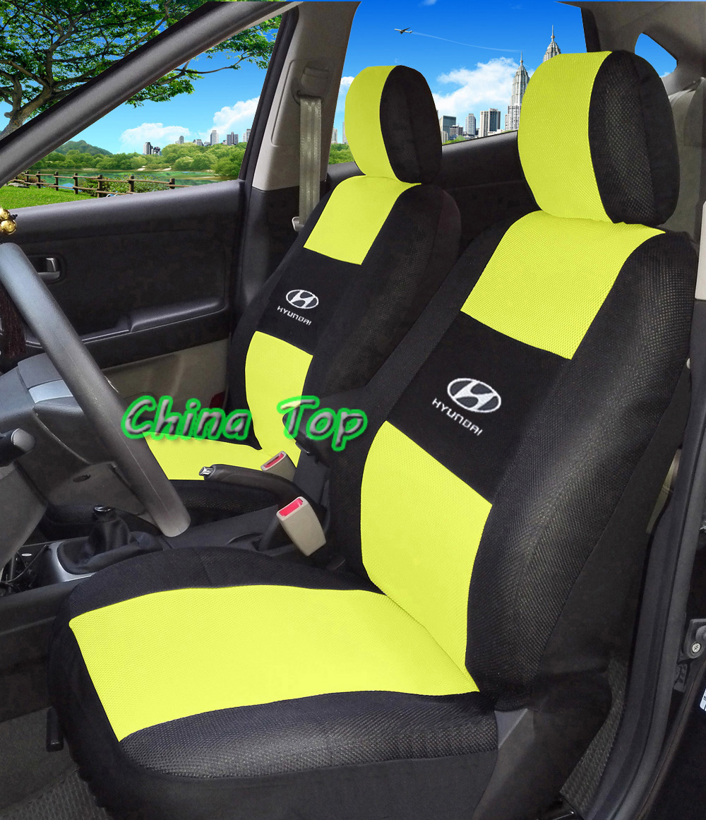 2 Front Seats Universal Car Seat Cover For All Hyundai