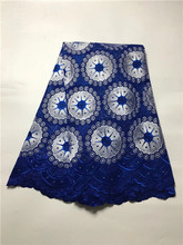 Buy JY15kLatest 2016 African Swiss Voile Lace blue High Quality Eyelet Dry Lace Embroidered Cotton Voile Swiss Lace for $48.60 in AliExpress store
