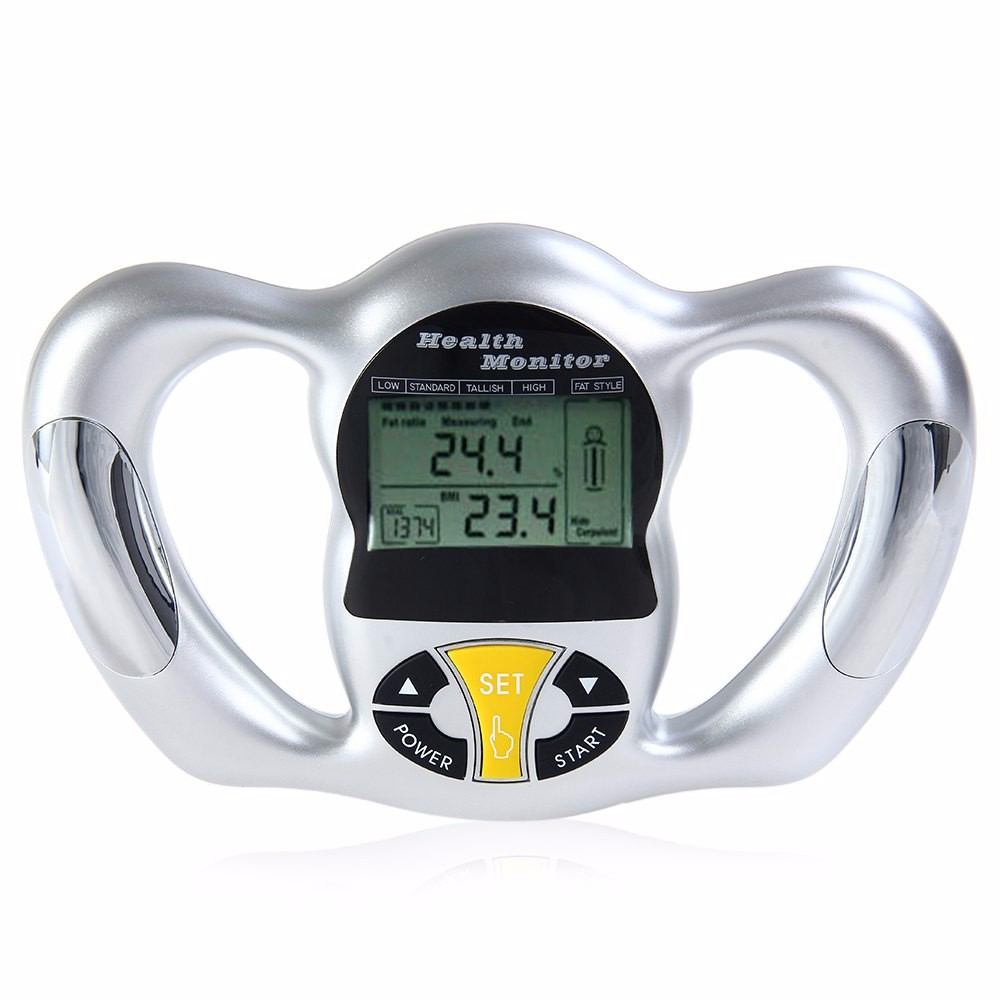 BZ - 2009 Body Fat Monitor Hand Held Body Mass Index BMI Health Monitor (1)
