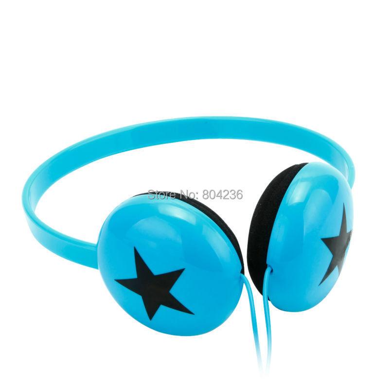 Rockpapa Boys Girls font b Kids b font Children Teens Stereo Adjustable Black Star font b