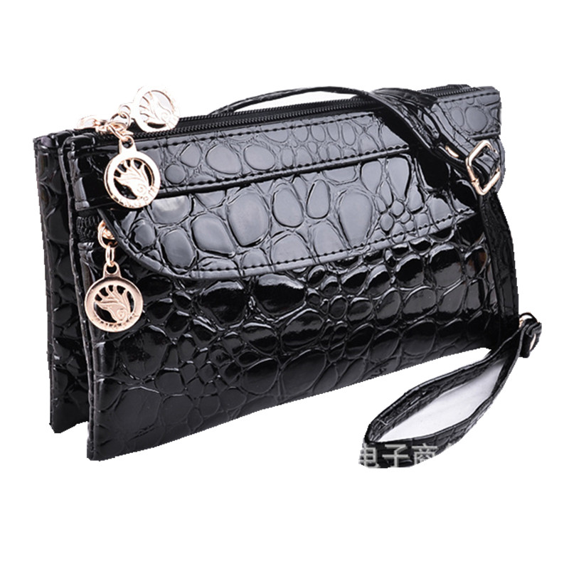 4 Colors Double Zipper Designer Clutch Bags Women Messenger Bags 2016 Shoulder Small Cross body Bag Leather Handbags JW2032(China (Mainland))