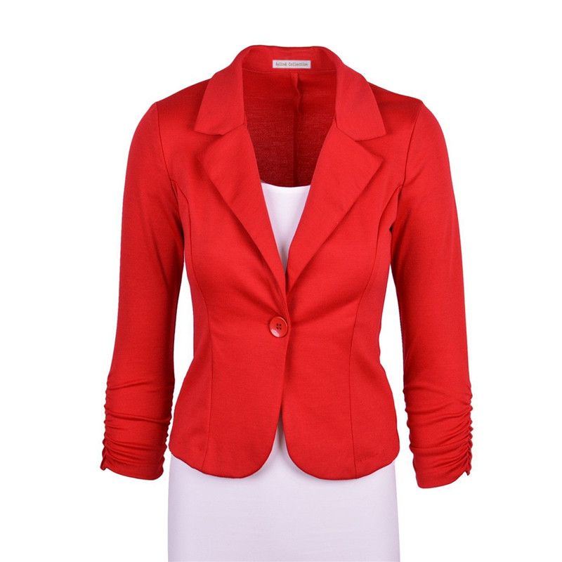 Red Blazer Ladies Promotion-Shop for Promotional Red Blazer Ladies ...